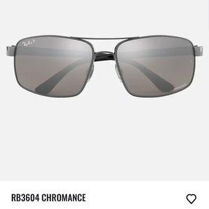 Rayban Aviator Chromance Polarized sunglasses